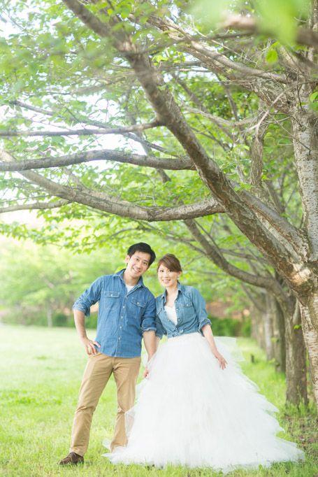 【大阪】結婚式の前撮り! 森と海の都会の隠れた自然編♪ - 結婚式の写真撮影 ウェディングカメラマンMS Photography