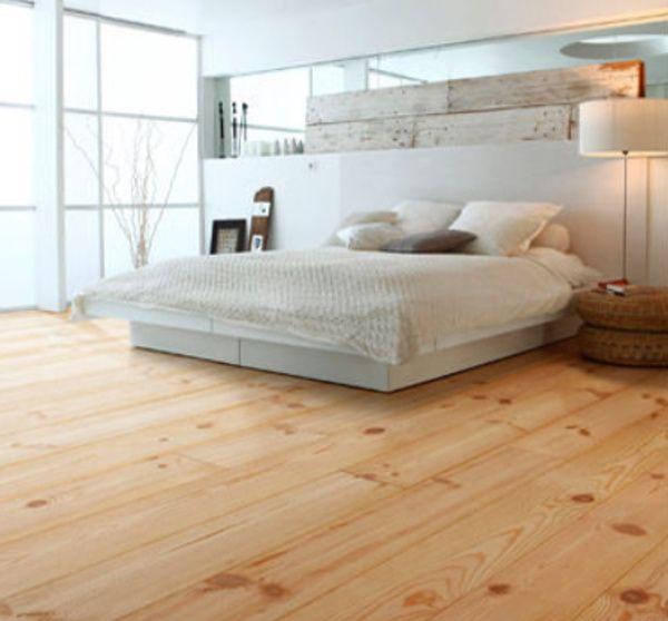 grenen vloer slaapkamer http://belat.be/