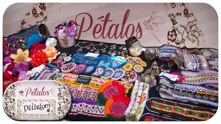 Pétalos Delirium Tienda para Bailarinxs de Danza Tribal Artículos y joyas del Medio Oriente  Flores de aspecto natural, para el cabello