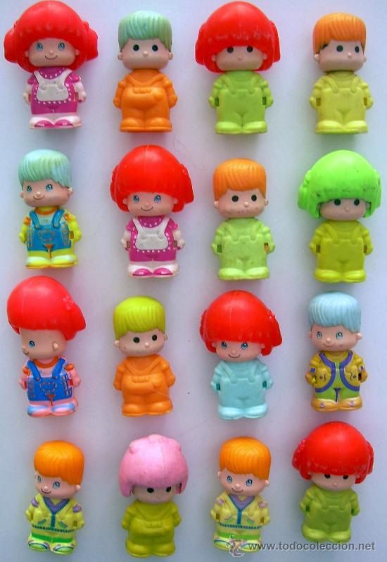 Pin y Pon ~ I still have a lot of these! My favourite toy when I was 5  ♥     #80s #90s #toy #doll #pinypon