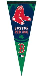 3208570551//_A_ Premium pennants are the new throwback to classic wool pennant. The soft felt pennant is approximately 12x30 in size and features outstanding full color graphics. The pennant is durabl
