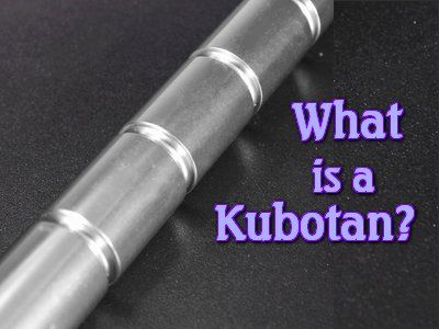"The name 'Kubotan' comes from ""Kubota"" and ""baton.""The Kubotan is a keychain that is a self-defense weapon, designed for close quarters fighting. It was invented by Takayuki Kubota and was originally developed for use by"