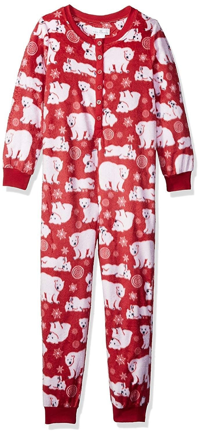 4c785933221 Karen Neuburger Christmas Holiday Pajama Set Kids XL