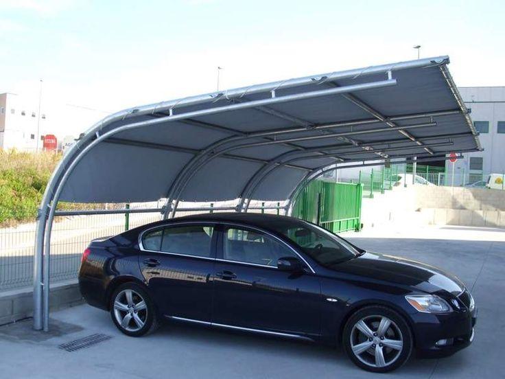 Pensilina Impermeabile in PVC - tettoia copertura auto