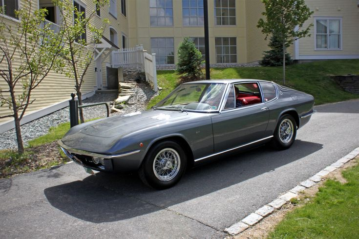 1969 Maserati Mexico Coupe Frua