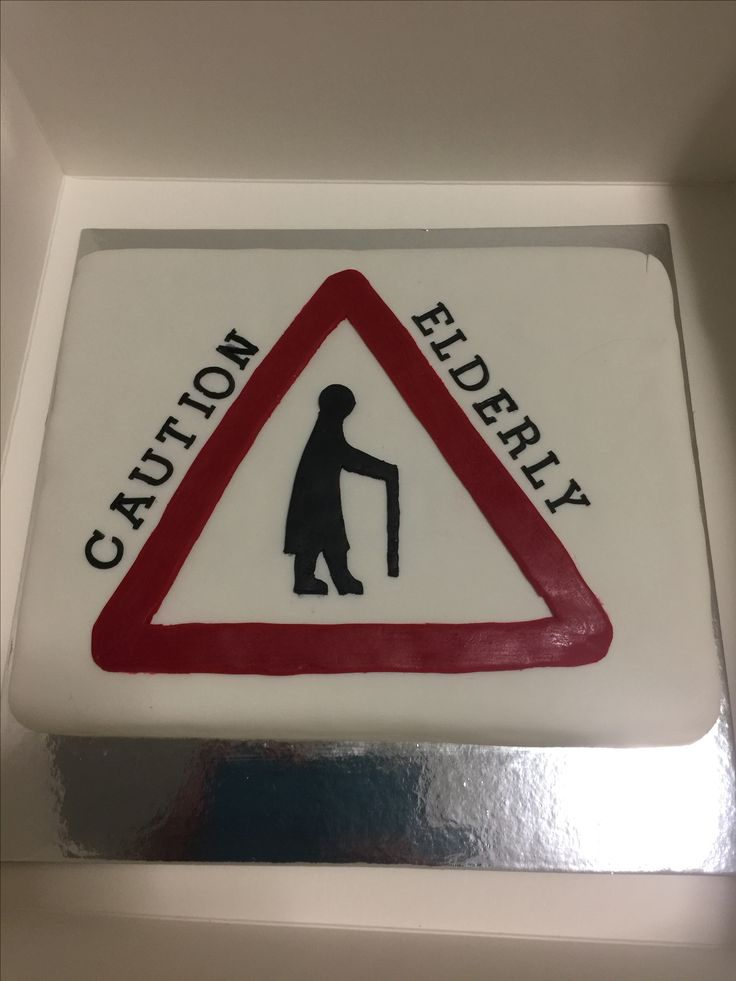 Old Person Cake