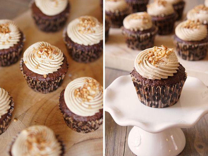 recept mokka cupcakes