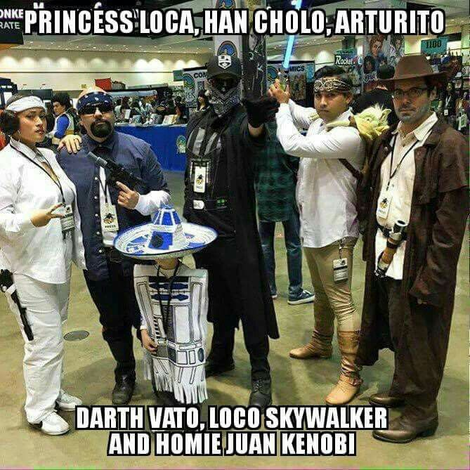 Cholos In The Star Wars Spirit Be Like...lmao