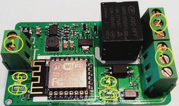 Blynking an IoT Yunshan ESP8266 250V 10A AC/DC WIFI Network