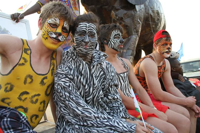 AfrodizzyActs Zimbabwe representing at the UNWTO Carnival held in Vic Falls in 2013.
