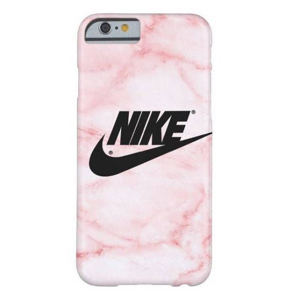 2537dd00c3e54 Gold pink black nike PHONE CASE iphone 7 marble 7 plus iphone ...