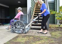 portable wheelchair lift school picture