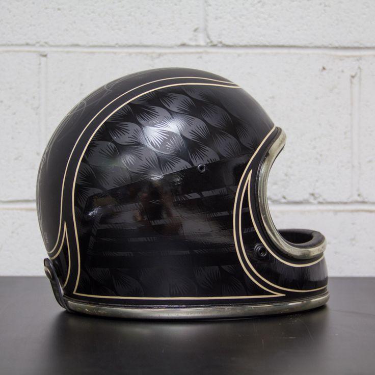 Wolf Designs' Custom Arthur Fulmer Helmet