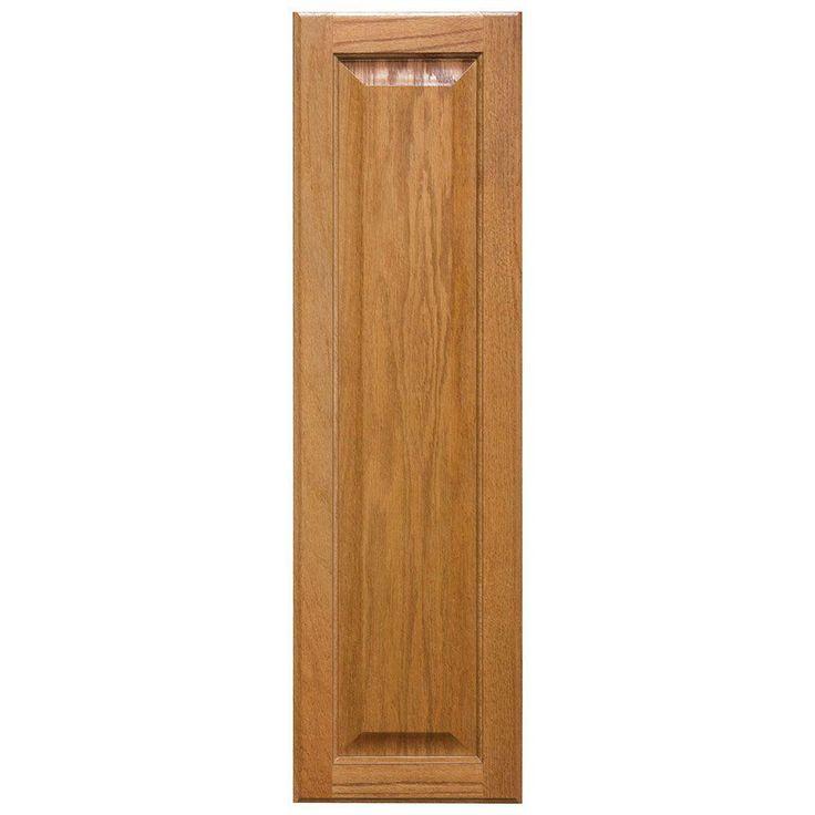 10x33.375x0.625 in. Hampton Decorative End Panel in Medium Oak