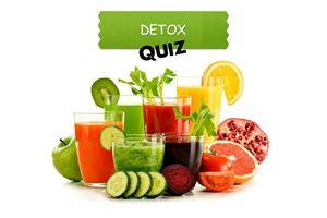 Quiz detox : découvrez vos résultats...