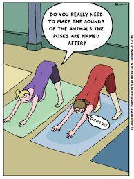 Image result for funny yoga puns