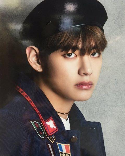 BTS Individual Poster For RUN JPN Version Scan
