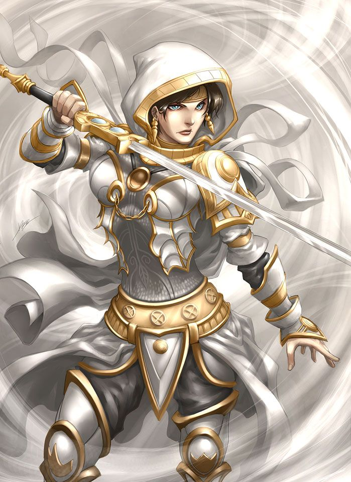 Magic the Gathering: Elspeth Tirelby *Quirkilicious on deviantART