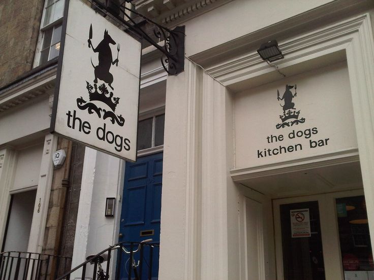 the dogs kitchen bar, lower case :)