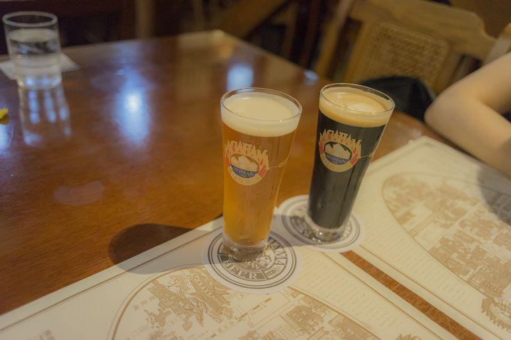 長浜浪漫ビールでついに滋賀郷土料理「鮒寿司」を食べる