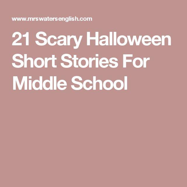 halloween stories ideas