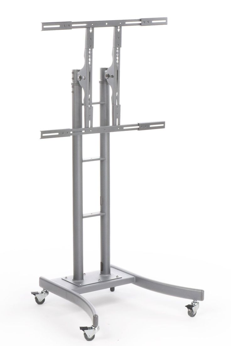 1000 ideas about tv stand with wheels on pinterest - Mobile tv industrial ...