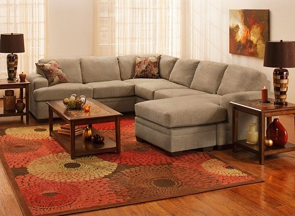 Whitten Living Room Collection   Is This Size Couch Too Big?