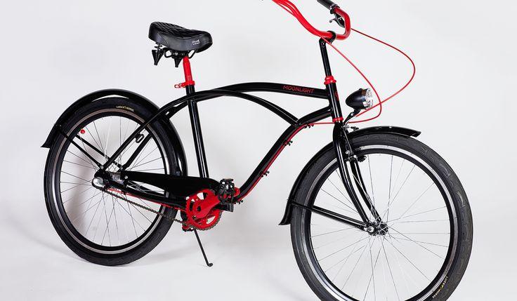 Moonlight Red Sole | Rowery miejskie Bikes Bazaar
