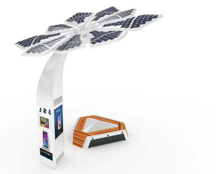 Solar-powered Smart Palms in Dubai offer beach goers wifi and charging stations | Inhabitat - Sustainable Design Innovation, Eco Architecture, Green Building