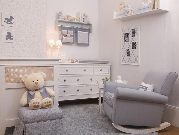 Grey baby bedroom