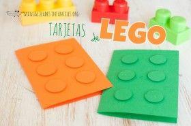 Invitacion de Lego para fiestas
