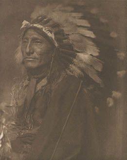 Indian Chief, Gertrude Kasebier, 1902