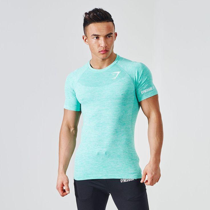 Avant Seamless T-Shirt - Mint Green