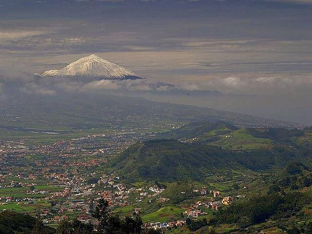 The best views of Tenerife? You can find them on top of Monte de las Mercedes.