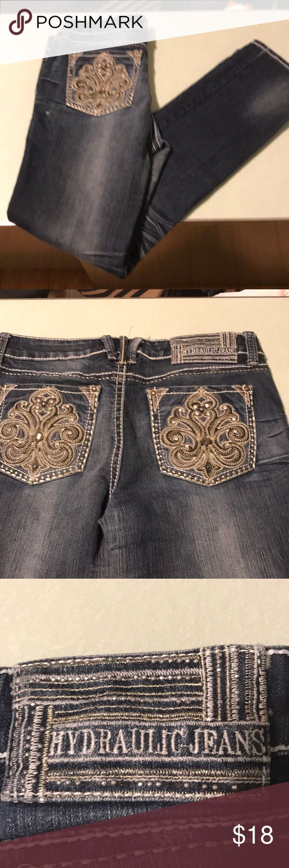 Hydraulic jeans Great condition pair of hydraulic jeans size 12 Jeans Straight Leg