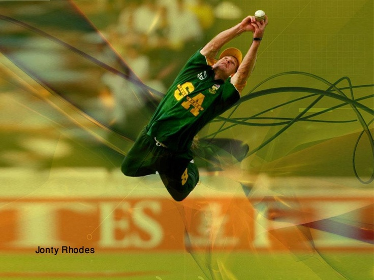 """Jonathan Neil """"Jonty"""" Rhodes (born 27 July 1969) is a former South African Test and One Day International cricketer who played for the South African cricket team between 1992 and 2003."""