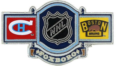 2016 NHL Winter Classic Dueling Pin - Canadiens vs. Bruins