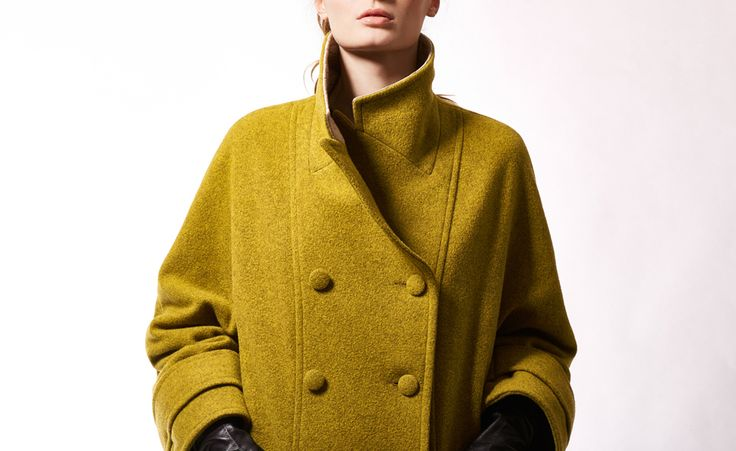 The Callas - oversized cocoon wool-blend coat