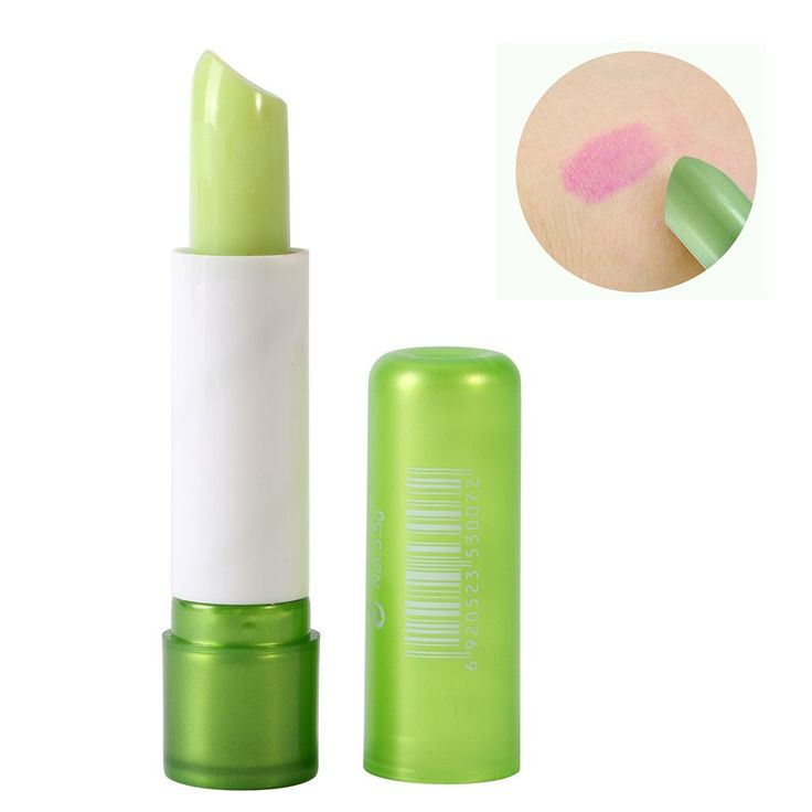Shouhengda Magic Jelly Make Up Lipstick Color Changing Long Lasting Lip Gloss Moisturizing Lip Balm. Color changes shades of pink. Great effect and waterproof. Moisturizing, and long lasting lipstick. Portable size, easy to carry. It is absolutely safe for you to use them.