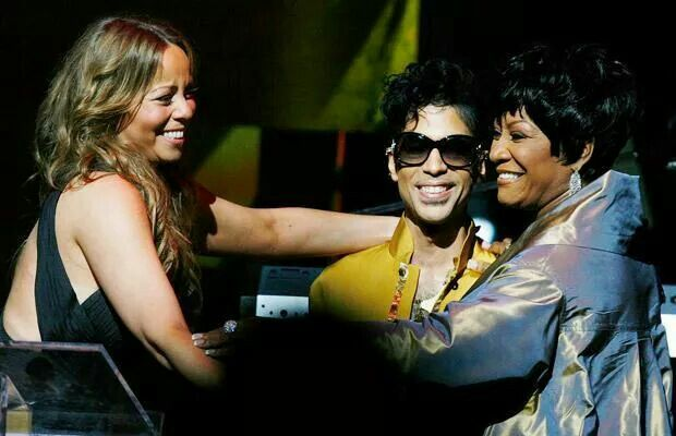 Mariah Carey With Patti LaBelle & Prince ....