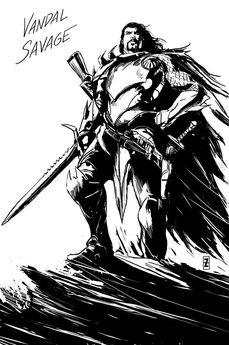 Vandal Savage by DC Comics artist Patrick Zircher