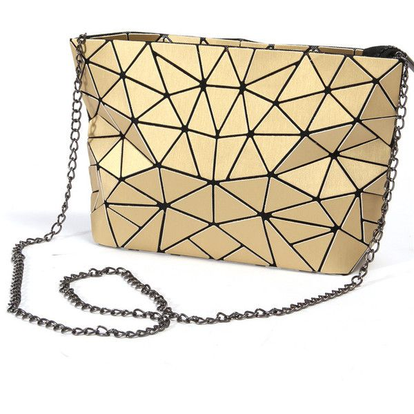 Geometry Shoulder Bag Pu Leather ❤ liked on Polyvore featuring bags, handbags, shoulder bags, pu leather handbags, shoulder bag purse, beige shoulder bag, shoulder handbags and shoulder hand bags