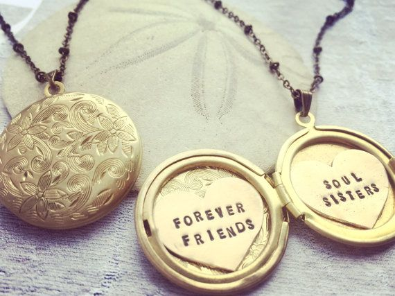 lockets best forever necklaces friends piece ever heart pin and