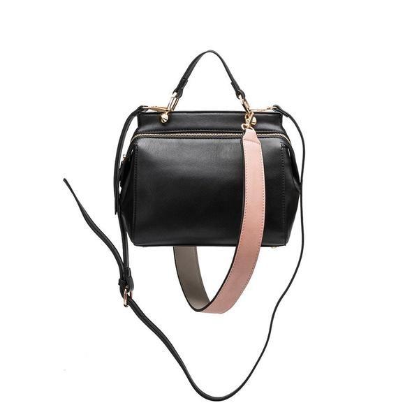 Melie Bianco | Noelle | Vegan Leather Satchel/Shoulder/Crossbody | Black | Vegan Handbag | Vegan Purse | Vegan Fashion | Cruelty Free Handbags | Shop KIND | KIND Style
