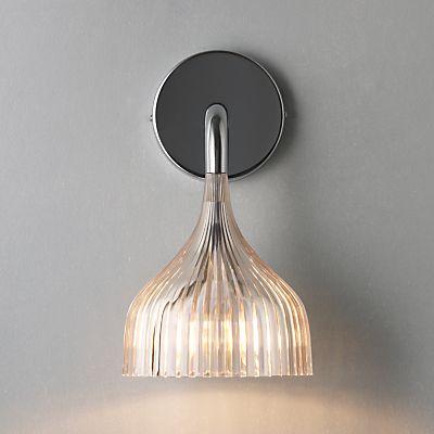 buy kartell e wall light rose online at john lewis