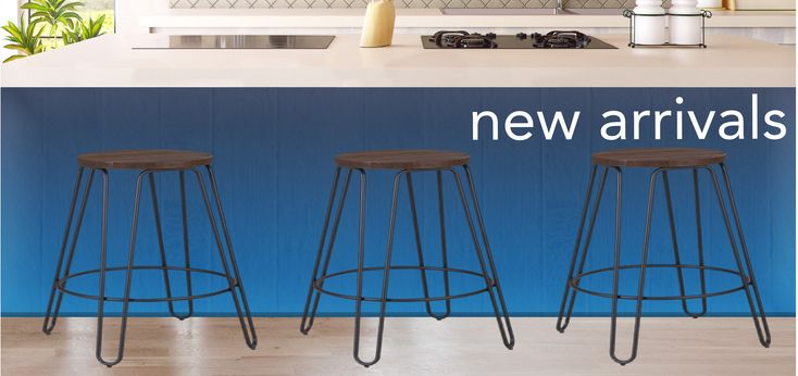 Black Hairpin Stool with Bamboo Seat 66CM  This Hairpin stool features a light striking style reminiscent of its name yet is still sturdy and strong. Perfect for home or cafe/restaurant.  Seat height: 66 cm Seat diameter: 33 x 33 cm Footprint: 49 x 49 cm