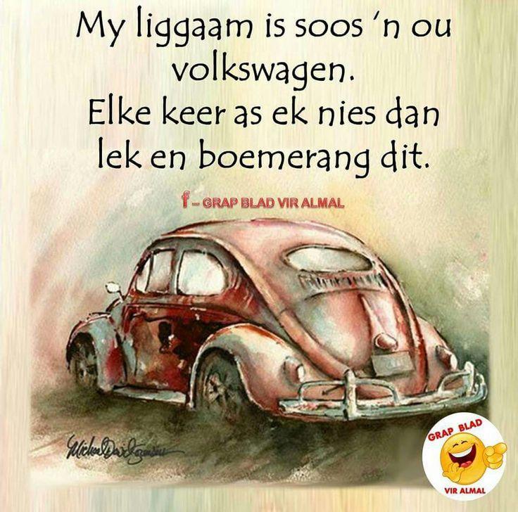 My liggaam is soos.... Afrikaans #Analogies #GrowingPains #skedonk