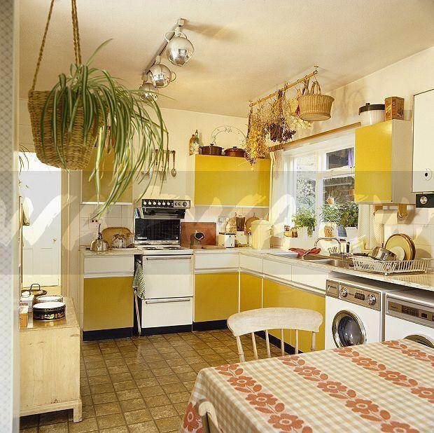 70s Kitchen Home Decor