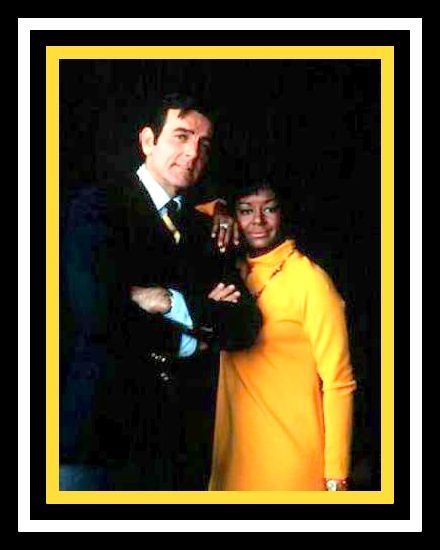 Gail Fisher with Mike Connors in Mannix.