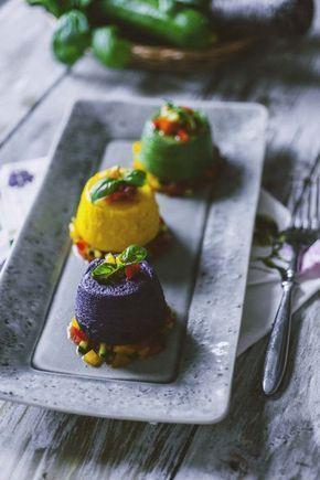 Flan di verdure: Ti presento un #antipasto saporito e ricco di colore: porta sulla tavola i miei #flan di #verdure! Ecco per te la mia ricetta!